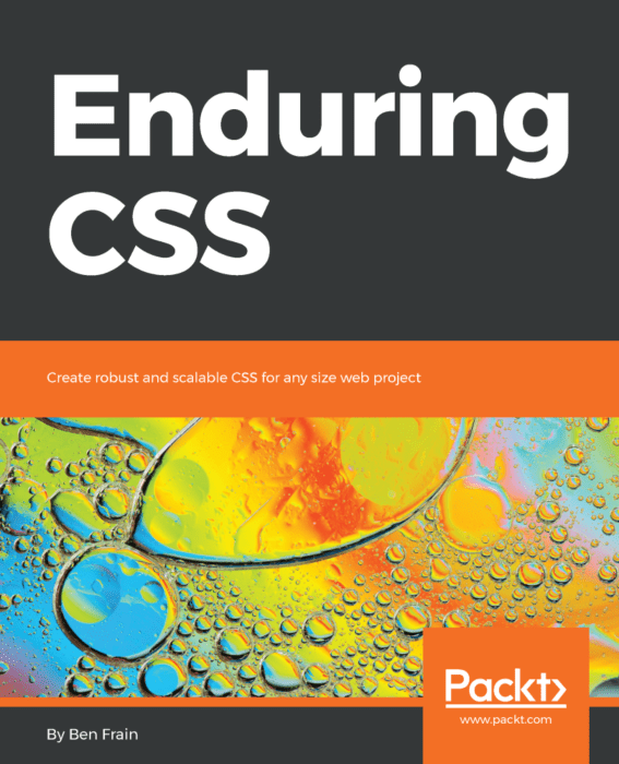 Book cover of Enduring CSS