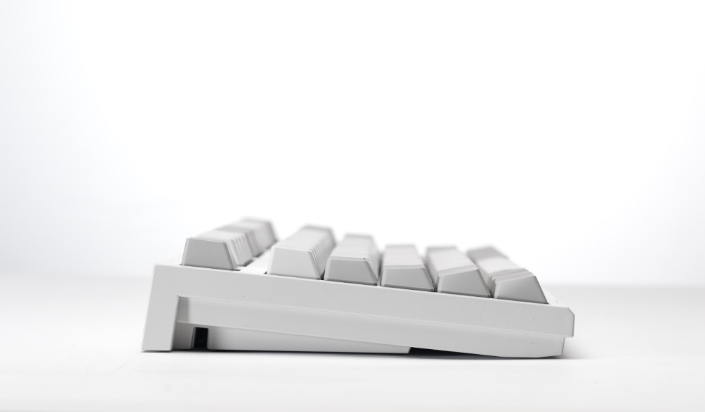 Side profile of a Realforce keyboard