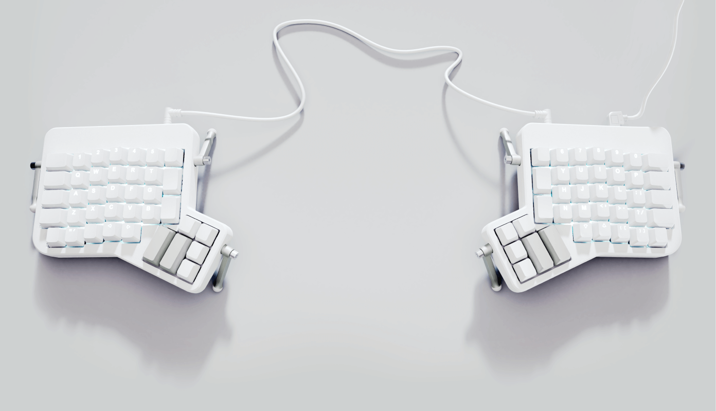 The ErgoDox EZ keyboard